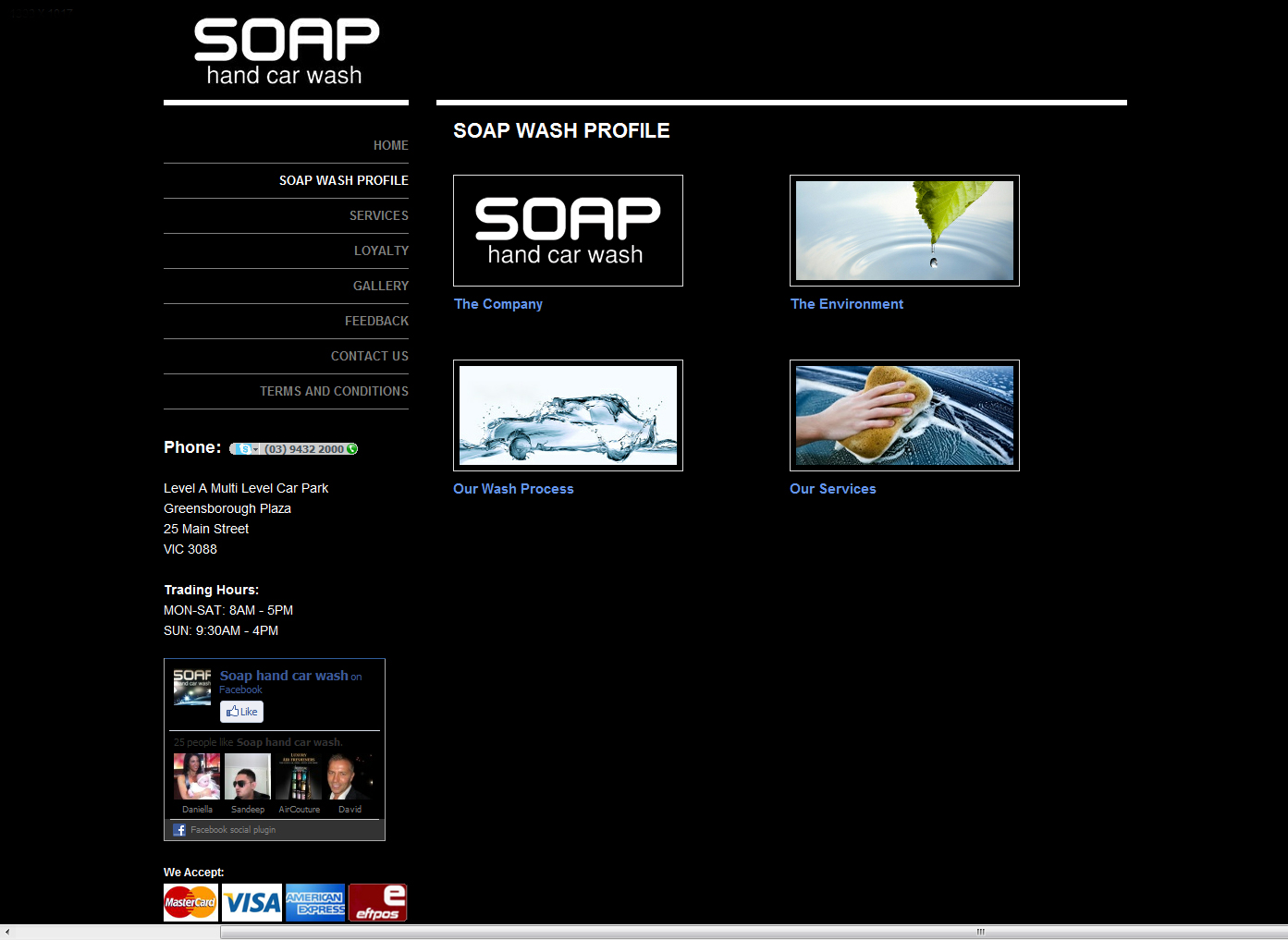 SOAP Hand Car Wash Screenshot