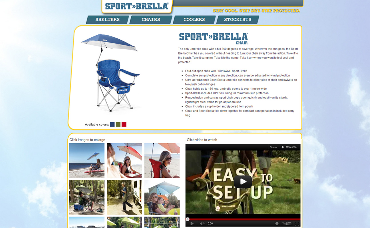 Sport-Brella Screenshot