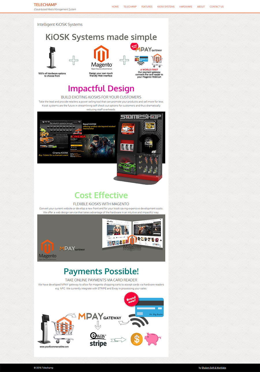 Tele Champ Website Screenshot
