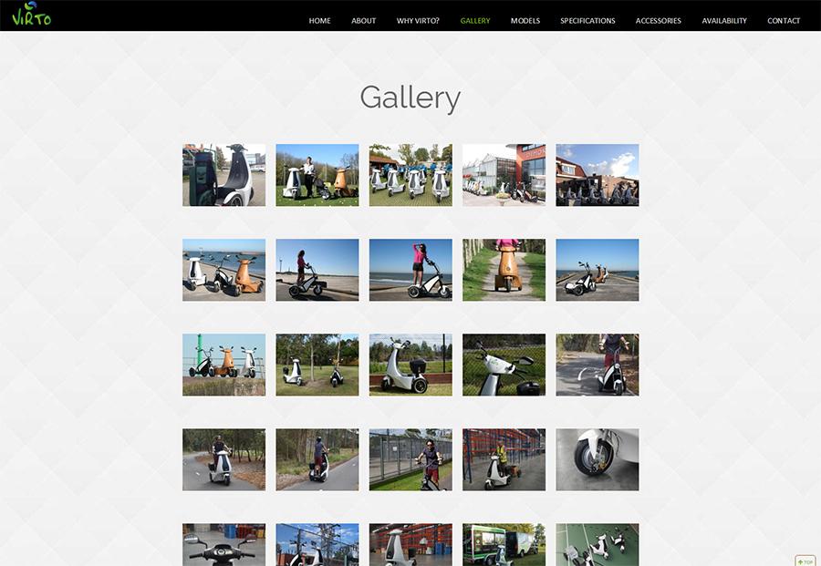 Virto Website Screenshot